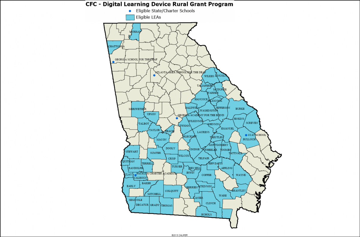 CFC Program Information The Governors Office Of Student - Georgia map activity tier 2